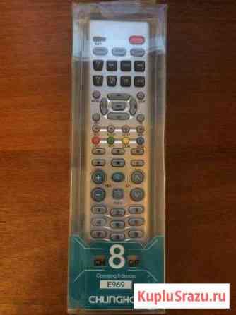 Универсальный пульт chunghop E969 на 8 устройств Ликино-Дулево