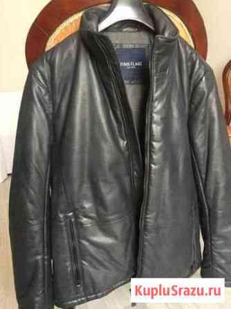 Finn Flare Мужская кожаная куртка Назрань
