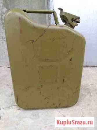 Канистра металлическая 10 литров Элиста