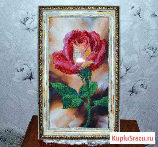 Вышивка бисером Роза Ульяновск
