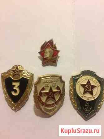 Значки СССР Пикалево