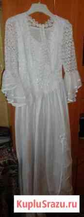 Свадебное платье(L) Сланцы