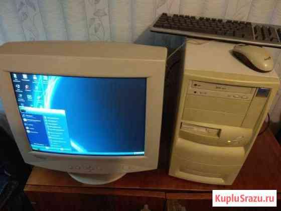 Компьютер с монитором+ клавиатура+ мышка Бокситогорск