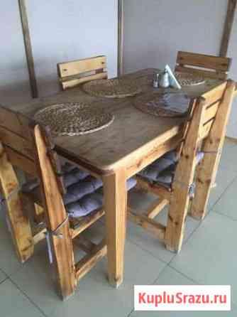 Столы и стулья Элиста