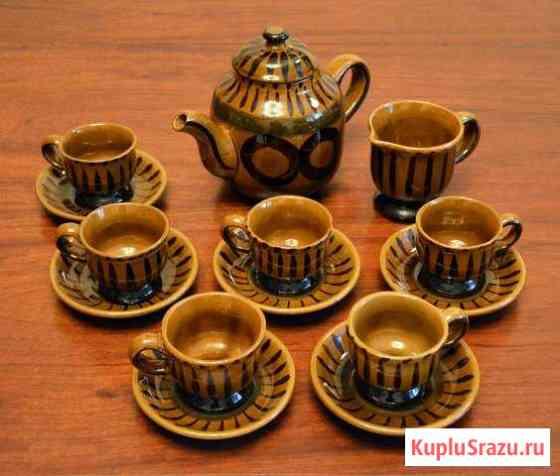 Кофейный керамический сервиз СССР 1970-1980 Москва