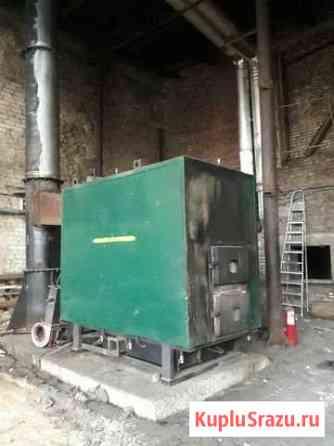 Котел дровяной (твердотопливный) 700 кВт Островское