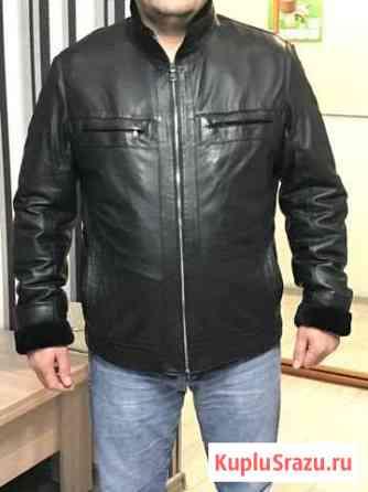 Зимняя кожаная куртка Ханты-Мансийск