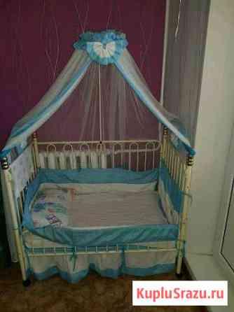Детская кроватка с люлькой Нижнекамск