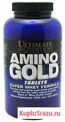 Аминокислотные комплексы Ultimate Amino Gold Table Москва