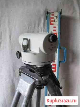 Нивелир оптический Н-3К, штатив, рейка Магнитогорск