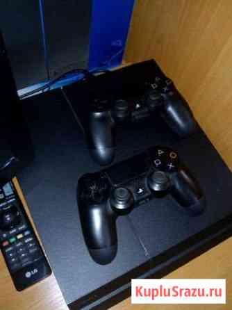 Sony Playstation4 500GB. + 2 джойстика Пикалево