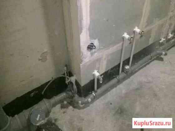 Подключение сантехники, монтаж труб отопления,воды Санкт-Петербург