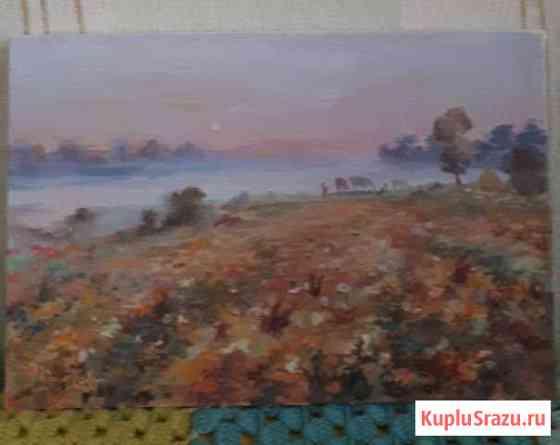 Картина Восход солнца Ноябрьск