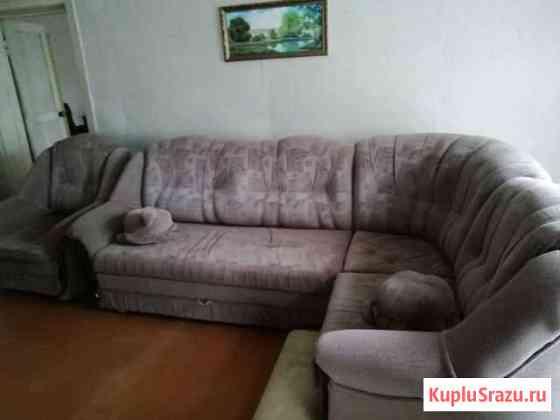 Диван +кресло Советск