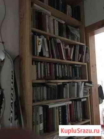 Книжные полки, стол, шкаф угловой и диван Кызыл
