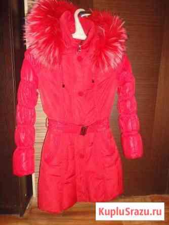 Куртка-пуховик на натуральном пуху с меховой опушк Злынка