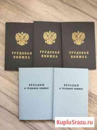 Трудовая книжка. Вкладыш в трудовую Красноярск