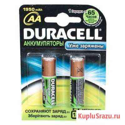 Аккумуляторы Duracell aa 1950 mAh Ижевск