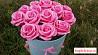 Букет из 15 роз из мыла в шляпной коробке