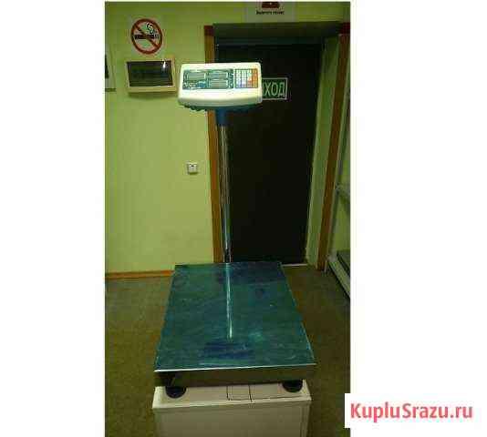 Весы товарные платформенные напольные на 150кг Рязань