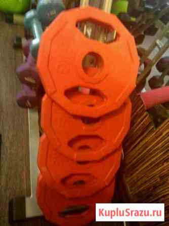 Блины чугунные обрезиненные 5 кг Ноябрьск