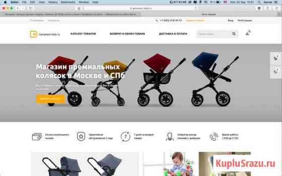 Интернет-магазин детских товаров. Прибыль 50 000р Краснодар