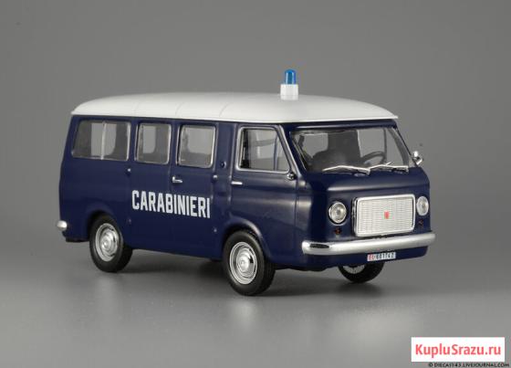 Полицейские машины мира №2 FIAT 238 CARABINIERI 1967. Полиция Италии Липецк