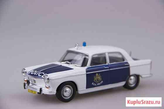 Полицейские машины мира №47 PEUGEOT 404 Липецк