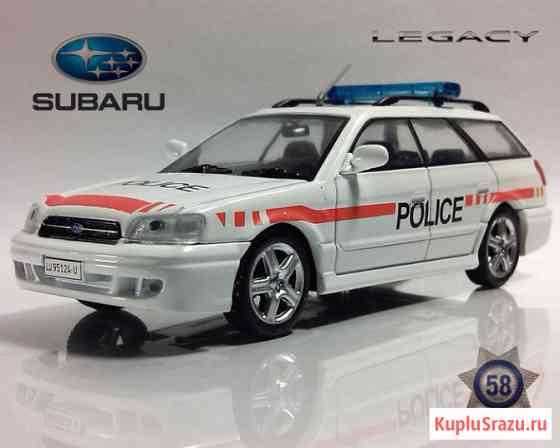 Полицейские машины мира №58 SUBARU LEGACY. Полиция Швейцарии Липецк
