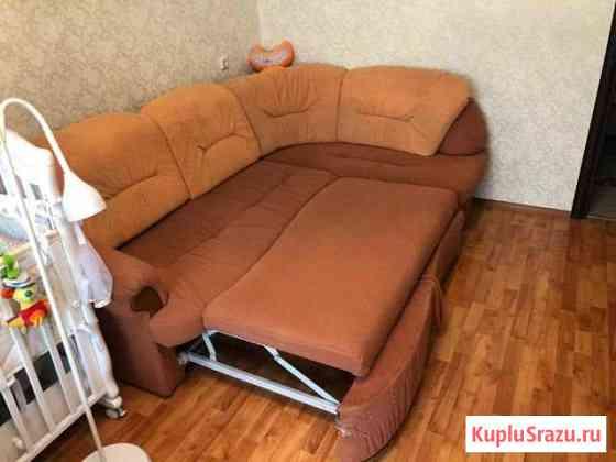 Раздвижной диван двухместный с ящиком для хранения Старая