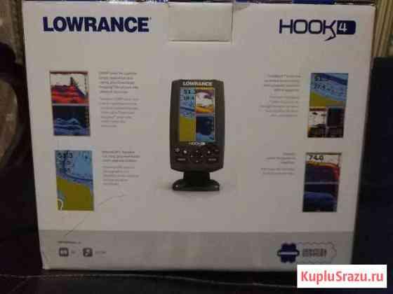 Эхолот-картплоттер Lowrance hook-4 Mid/High/DownSc Уваровка