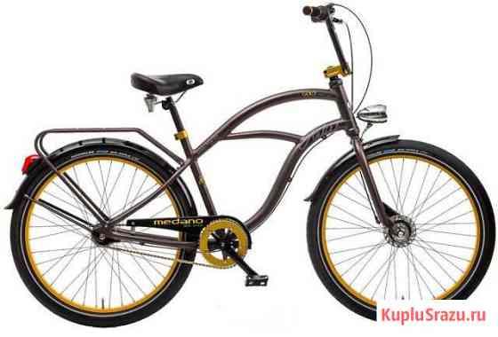 Круизер велосипед Medano Artist Gold Барвиха