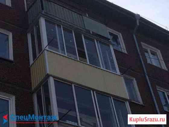 Тёплое остекление балкона в Барнауле Барнаул