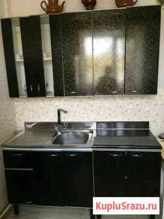 Черный кухонный гарнитур Биробиджан