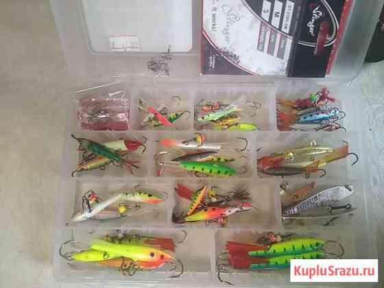 Комплект для зимней рыбалкиПолный фарш Домодедово