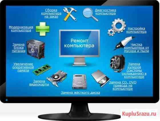 Профессиональный ремонт компьютеров и ноутбуков Абакан