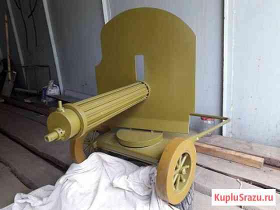 Массогабаритный макет оружия пулемет Максим Мамоново