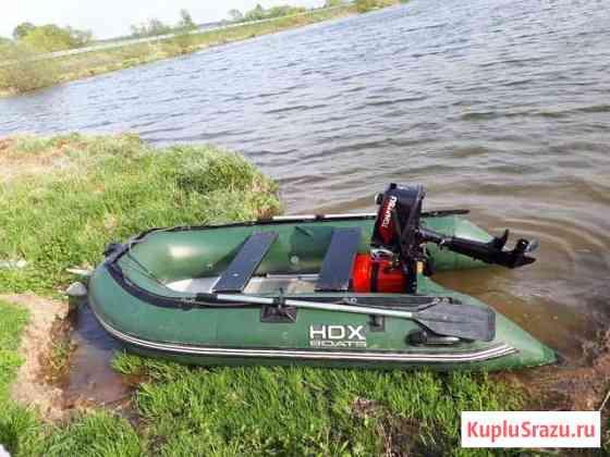 Лодка пвх HDX и лодочный мотор tohatsu Саранск