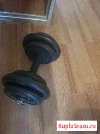 Гантели 19 кг Хабаровск