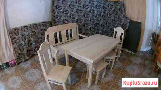 Столы, стулья, столовые диваны, табуреты Майма