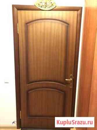 Дверь входная деревянная Домодедово