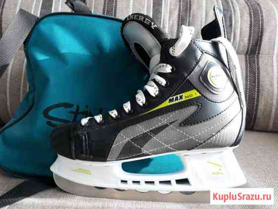 Коньки хоккейные тт Energy + сумка Магадан