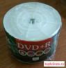 DVD+R диск (50 штук) с поверхностью для печати на