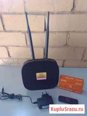 4G LTE wifi модем роутер E3372H +роутер Череповец