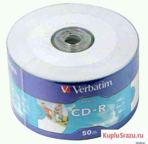 Диски CD-R, (RW) Омск