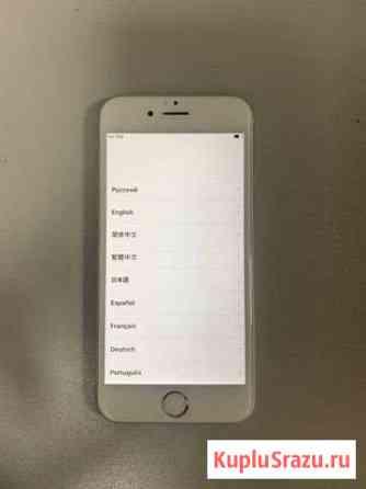 iPhone 6 silver 16Gb Биробиджан