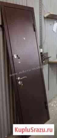 Стальная дверь с отделкой порошок медь Звенигород