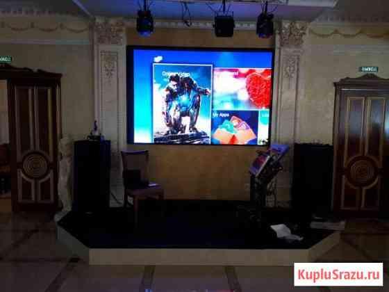 Светодиодные экраны для ресторана, бара, караоке Улан-Удэ