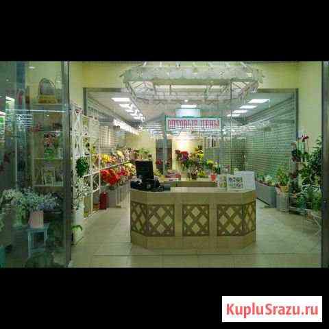 Стеклянная перегородка -холодильник-магазин цветов Москва