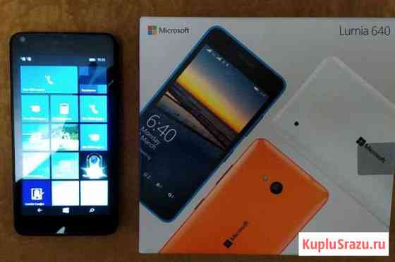 Microsoft Lumia 640 3G Dual Sim Black Санкт-Петербург